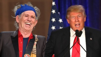 Keith Richards Once Whipped Out A Knife During An Encounter With Donald Trump