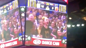 Riley Curry Really Dazzled On The Dance Cam Friday Night