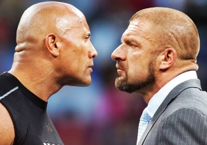 The Behind-The-Scenes Story Of The Rock And Triple H's All-Too-Real Rivalry