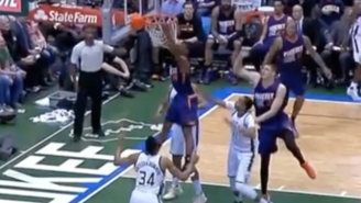 Little Ronnie Price Exploded Out Of Nowhere For This Emphatic Put-Back Slam Against The Bucks