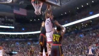 Terrence Ross Bulldozed Right Through Kyle Korver For This Strong Two-Handed Smash