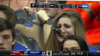 The Internet Delighted In Mocking This Crying Band Member And Kentucky After Their Loss