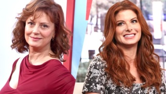 Debra Messing And Susan Sarandon Are Having Their Own Presidential Debate On Twitter