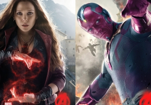 Are Scarlet Witch and Vision having relationship problems in 'Captain America: Civil War'?