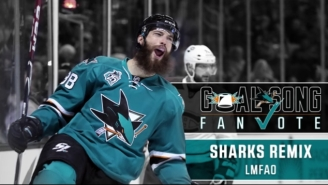 Everyone Needs To Hear The Hilariously Awful Song The Sharks Might Play When They Score