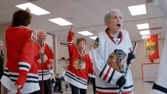 The Blackhawks Turned A Senior Center Into A Hockey Arena And The Results Were Heartwarming
