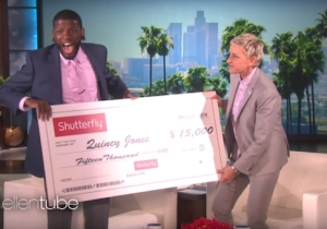 Watch Ellen DeGeneres Surprise A Terminally Ill Comedian With His Own HBO Special