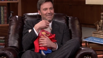 Ben Affleck Wins A Mountain Of Superhero Puppies In A Trivia Battle With Jimmy Fallon