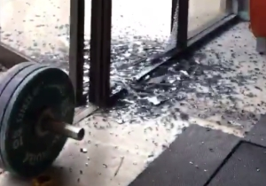 A Gym's Windows Were Shattered After This Olympic Hopeful's Lift Went Wrong