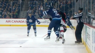 Dustin Byfuglien Crushed Mark Stone With One Of The Biggest Hits Of This NHL Season