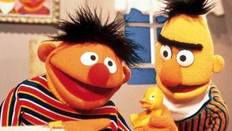 'Sesame Street' stars Bert and Ernie chill in 'Regulate' mashup video