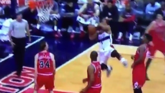 This Botched Layup By Ramon Sessions Will Make You Think You Can Play In The NBA