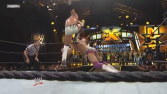 WWE Edited The Curb Stomp Out Of The NXT Greatest Matches DVD, Because Reasons