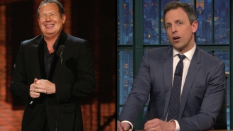 Seth Meyers Recalls How Much Garry Shandling And 'The Larry Sanders Show' Meant To Him