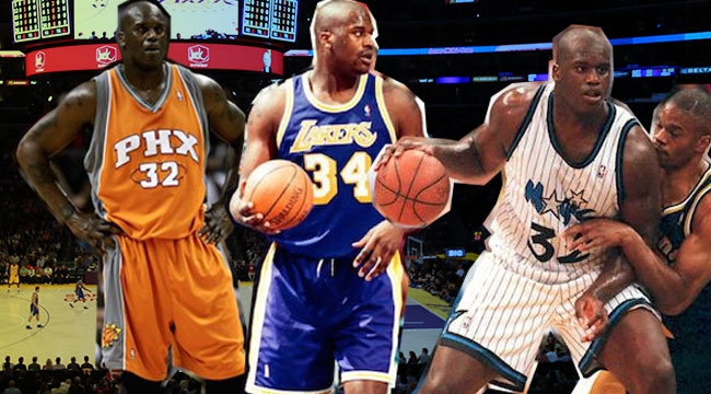 more photos 050d5 0ef50 Ranking All Of Shaquille O'Neal's NBA Jerseys