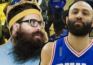 Behind The Bench: Teaching The Philadelphia 76ers How To Grow An Epic Beard