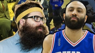 Behind The Bench: Teaching The Philadelphia 76ers How To Grow An Epic Beard