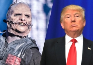 Slipknot's Corey Taylor Urges Folks To Dump Trump And 'Shut That Sh*t Down'
