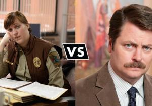 Molly Solverson vs. Ron Swanson: A Heroes vs. Villains Debate