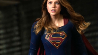 The Flash and Supergirl stare at each other in new crossover teaser