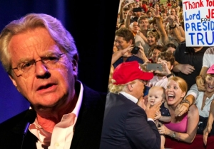 A Jaded Jerry Springer Believes Republicans Owe Him Money For Copying His Show