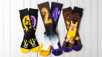 The Slick Stance Commemorative Socks The Lakers Will Wear To Honor Kobe On Sunday