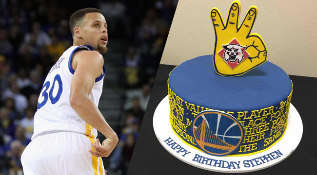 Where Did Steph Curry's Birthday Cake Rank Among All-Time