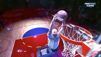 Steve Ballmer's Trampoline Dunk Makes Us Wish We Owned An NBA Team