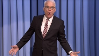 Steve Martin Sang About Not Wanting To Do 'The Tonight Show' And Discussed His First Stand-Up Set In 35 Years