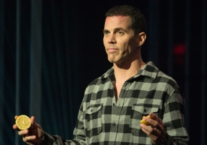 Steve-O Talks About Stand-Up, Longing For Attention, And The Voices In His Head