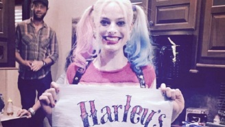 New 'Suicide Squad' Posters Announce 'Harley's Tattoo Parlor' Coming To SXSW