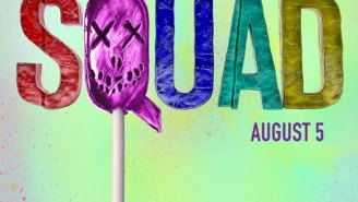 Latest 'Suicide Squad' poster is literally candy-coated violence