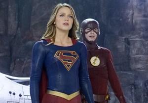 'Supergirl'/'Flash' teamup offers welcome fun alternative to 'Batman v Superman'