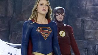 'Supergirl'/'Flash' teamup offers welcome fun alternative to 'Batman v Superman'