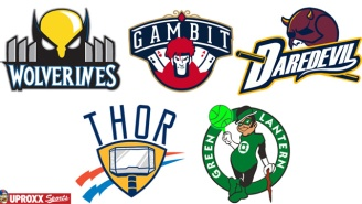 Here's All The NBA Logos Redesigned As Superheroes