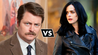 A Heroes Vs. Villains Debate: Ron Swanson vs Jessica Jones