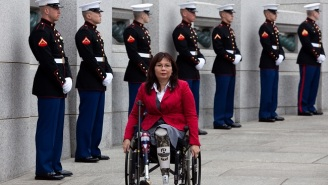 A Republican Group Accused A Double Amputee Of Not 'Standing Up For Our Veterans'