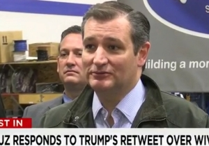 Ted Cruz Hulks Out And Calls Donald Trump A 'Sniveling Coward' For Insulting His Wife