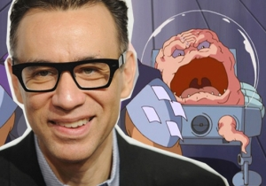Fred Armisen Is Out To Kill The Teenage Mutant Ninja Turtles In 'Out Of The Shadows'