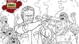 The Walking Dead Is Getting A Coloring Book, For The Zombie-Killing Child In All Of Us