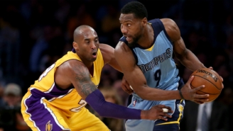 Tony Allen Made History With His Perfect Night Despite Memphis' Loss To The Lakers