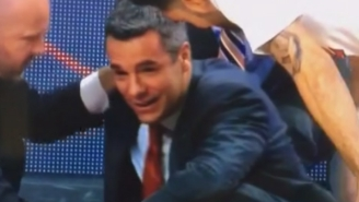 Here's The Scary Moment When UVA Head Coach Tony Bennett Collapsed On The Court