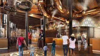 A Willy Wonka-Inspired Chocolate Factory Is Coming To Universal Studios