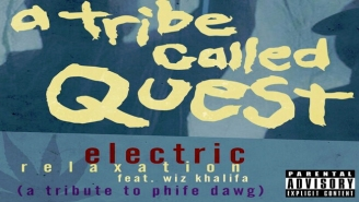"Wiz Khalifa Pays Respect To Phife Dawg With An ""Electric Relaxation"" Remix"