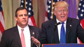 Chris Christie's Hostage Face Was The Greatest Part Of Trump's Super Tuesday Speech