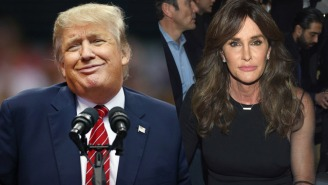 Caitlyn Jenner Thinks Trump Is 'Very Much For Women'