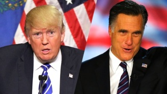 Mitt Romney Has A Great Line About Donald Trump's Foreign-Born Wives
