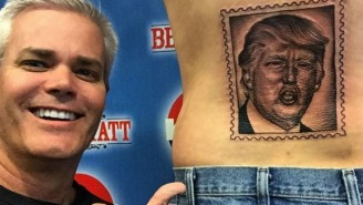 Man Gets Donald Trump Tattoo For A Year's Worth Of Concert Tickets