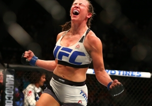 Miesha Tate Chokes Holly Holm Unconscious At UFC 196 And Is The New UFC Bantamweight Champ