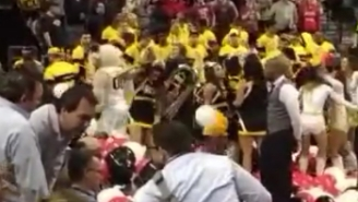 This VCU Cheerleader Is The Biggest Sore Loser You've Ever Seen